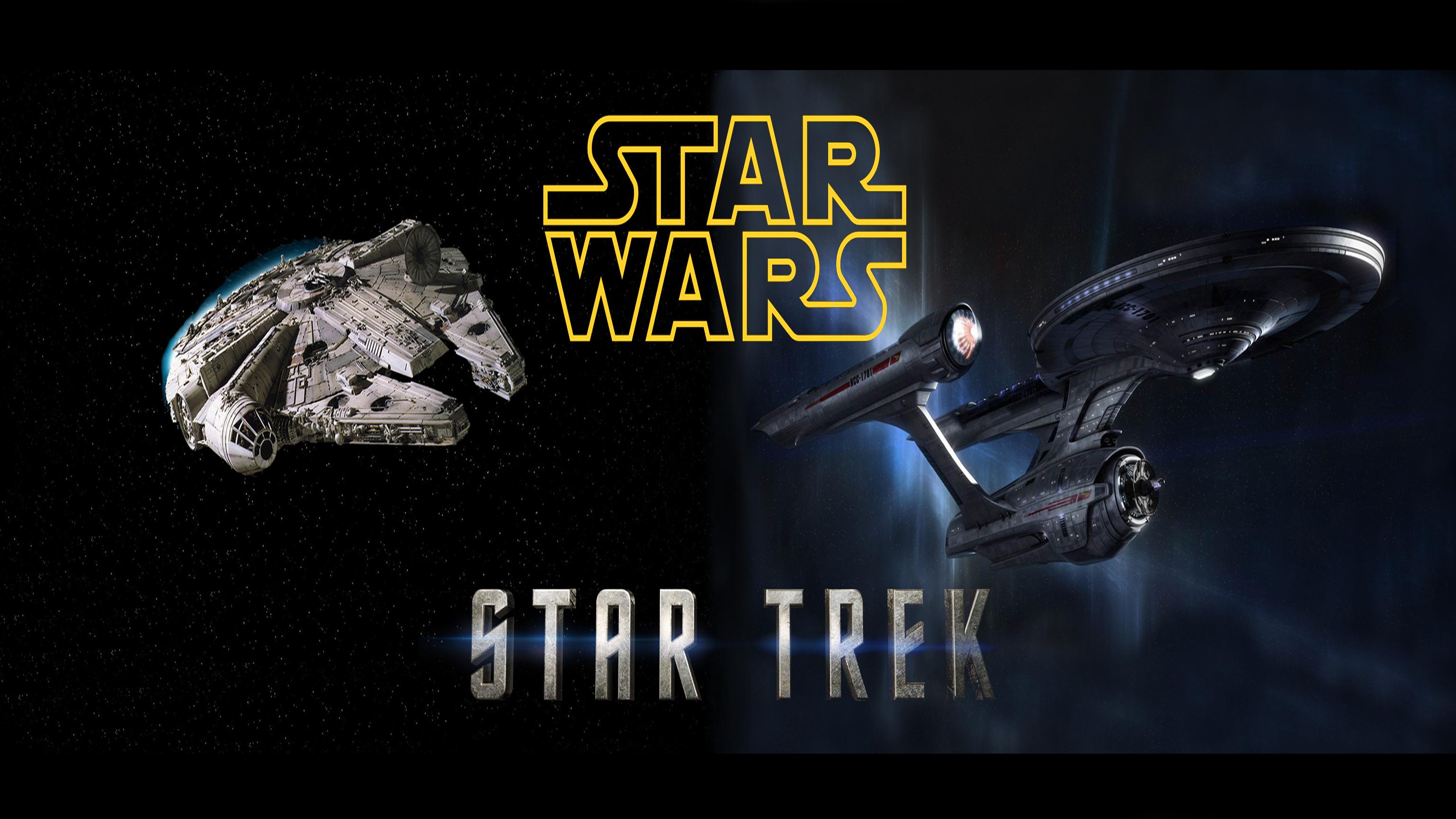 دو سفینه معروف در فیلم پیشتازان فضا و جنگ ستارگان