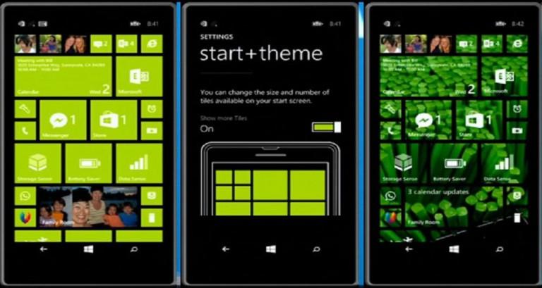 تصویر ویندوز فون 8.1