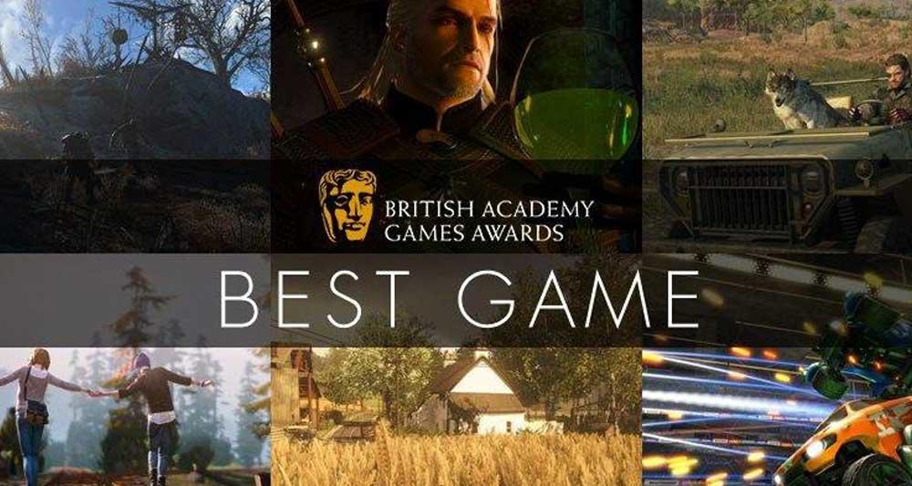 BAFTA 2016 games awards