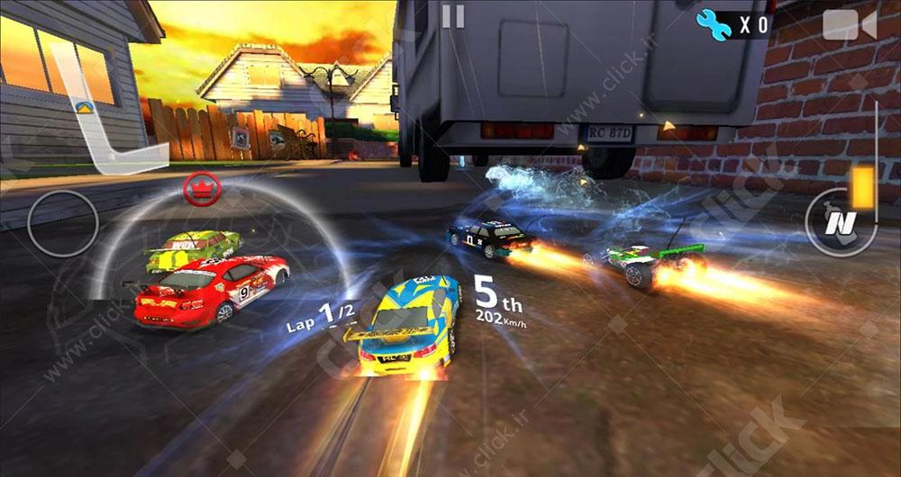 تماشا کنید؛بازی پرطرفدار Re-Volt 3 ؛این بار در اندروید و iOS