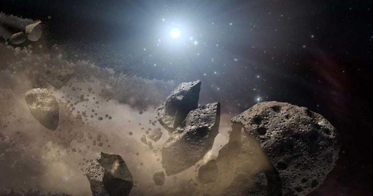 شکسته شدن سیارک