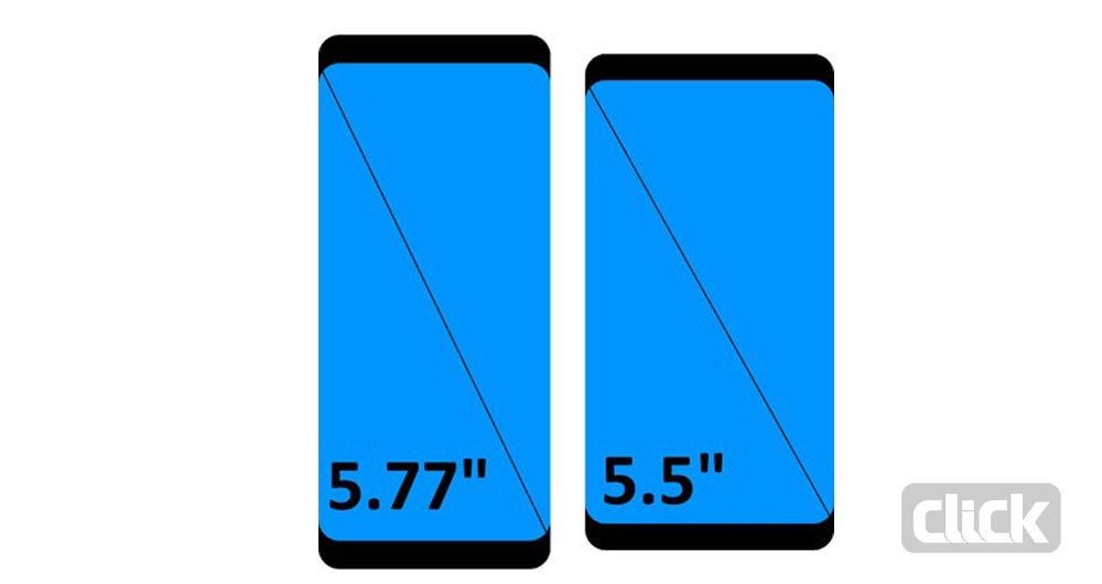 بررسی ویژگی های صفحه نمایش گلکسی S8