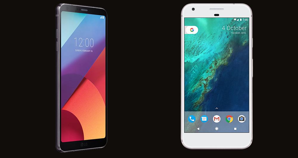 مقایسه همهجانبه ال جی G6 و گوگل پیکسل XL
