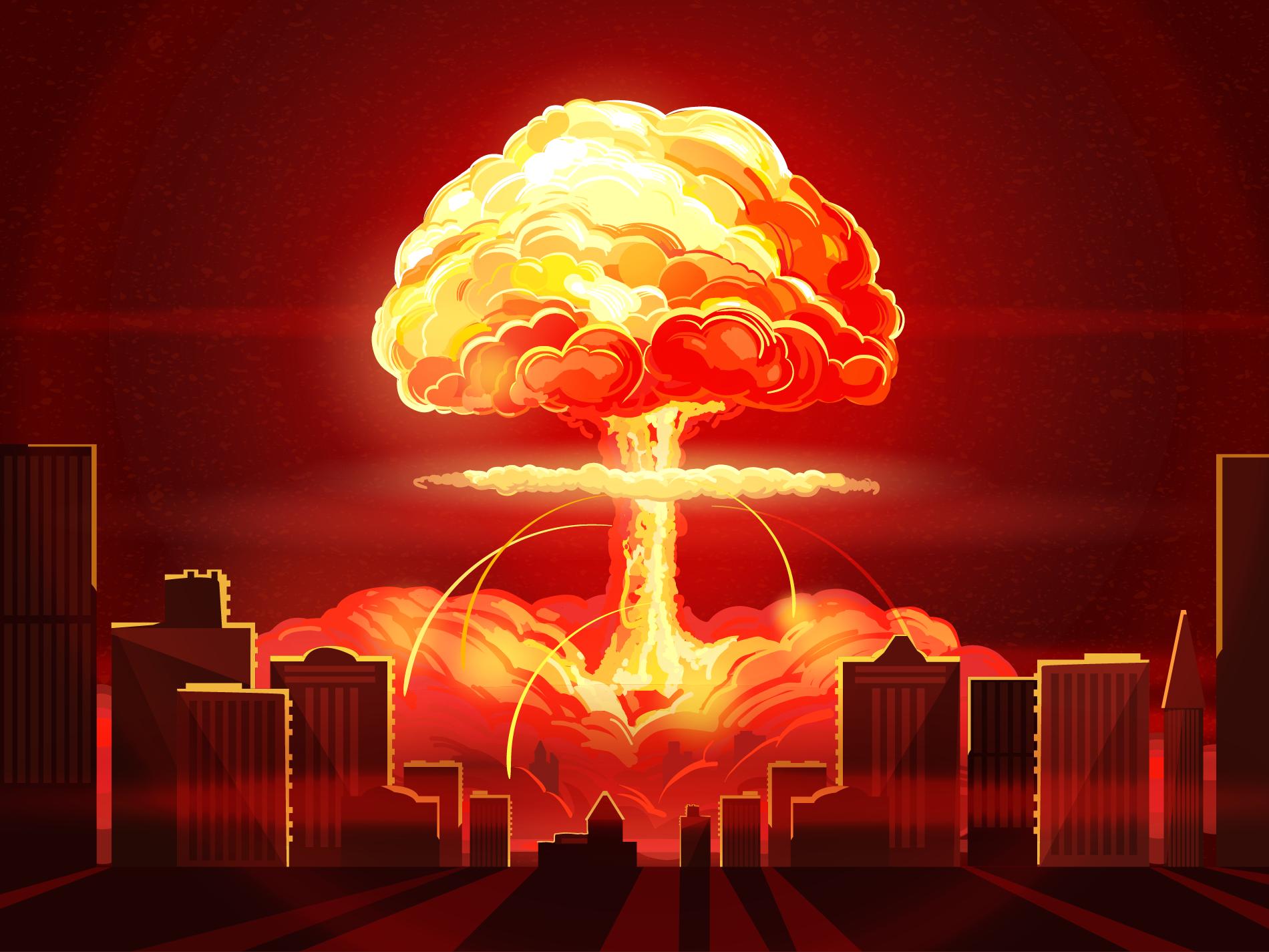 انفجار اتمی