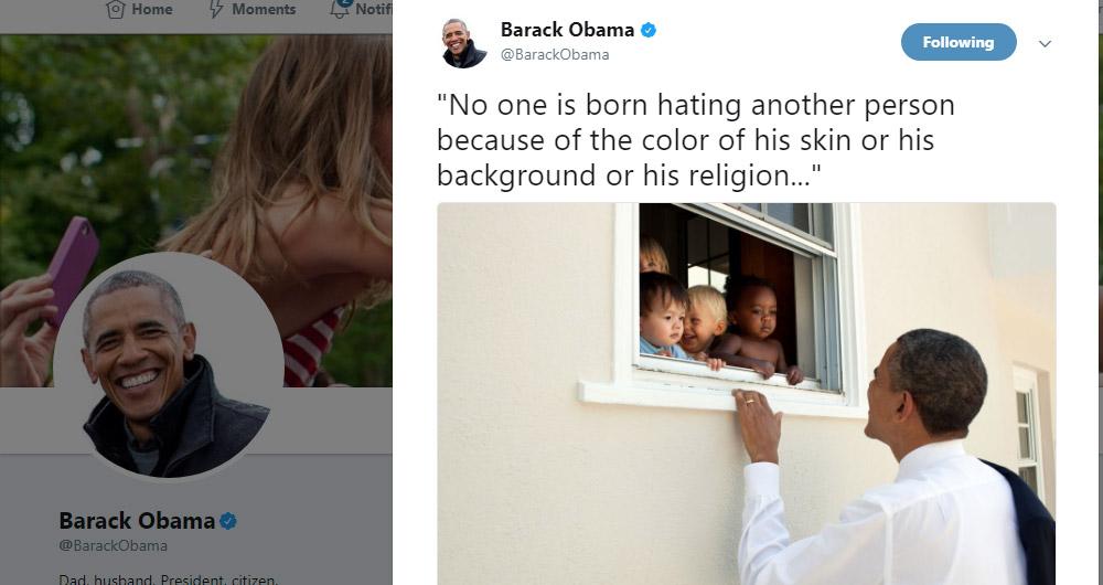 توئیت باراک اوباما رکورد لایک در توئیتر را شکاند!