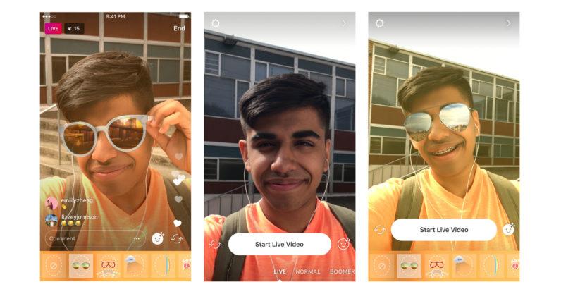 ویژگی جدید اینستاگرام: ویدئو لایو های خود را زیباتر کنید!