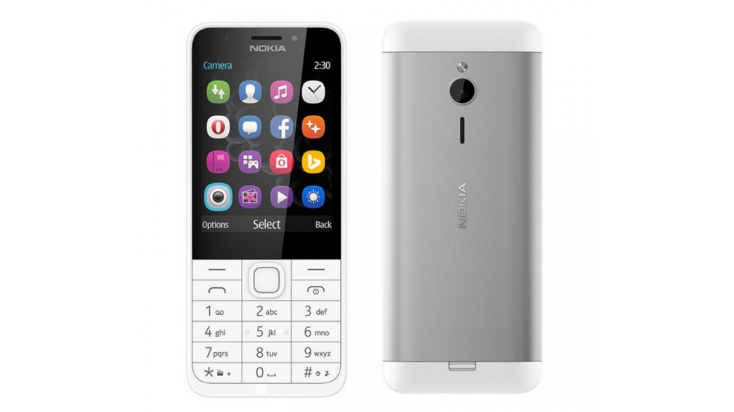 گوشی هوشمند 2.8 اینچی نوکیا 230 رسما معرفی شد