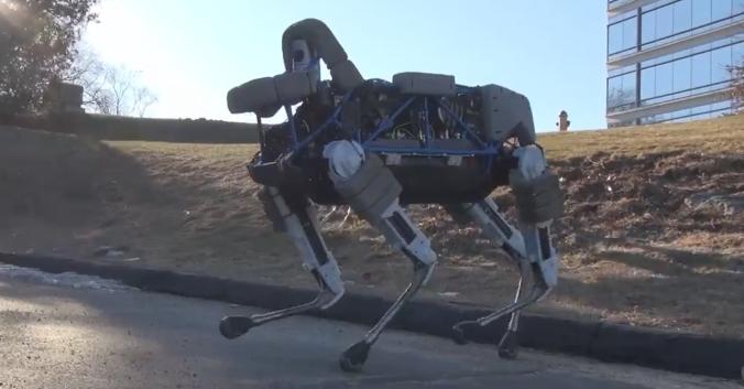 سگ روباتیک گوگل