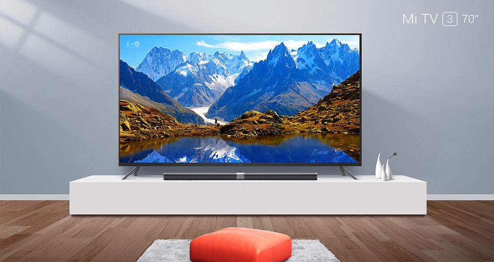 شیائومی تلویزیون هوشمند جدید 70 اینچی و 4K خود را معرفی کرد