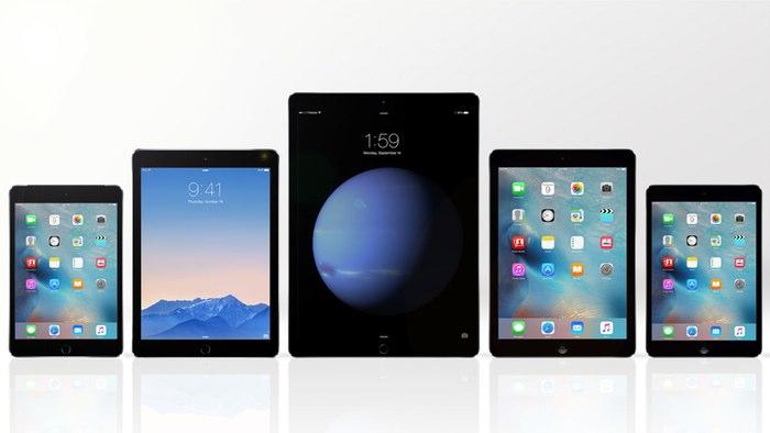 مقایسه تصویری پنج آیپد برتر کمپانی اپل