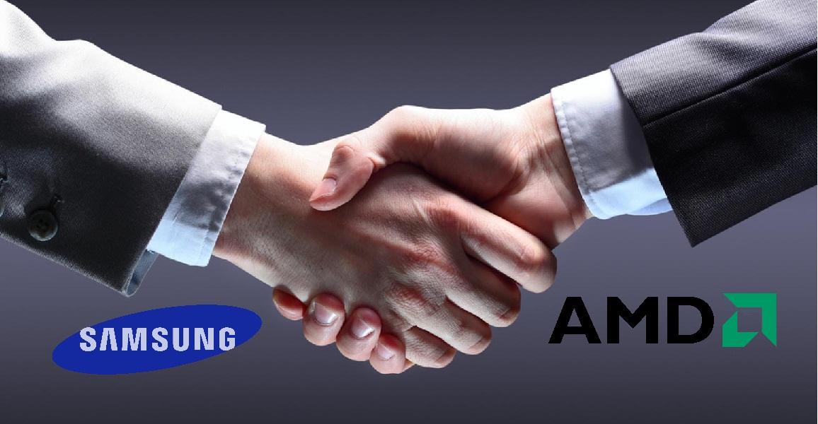 سامسونگ برای کمپانی AMD پردازنده تولید میکند