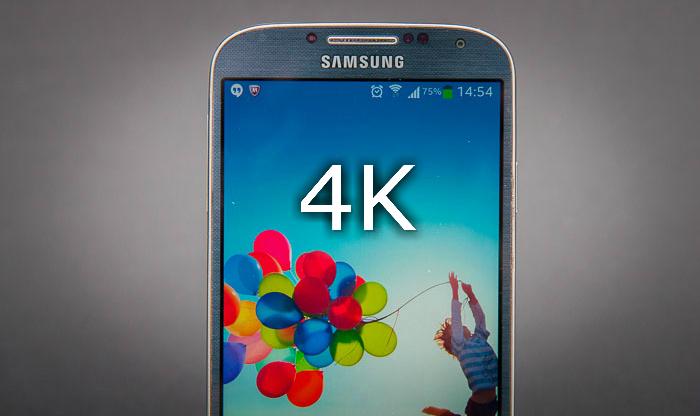 احتمال عرضهی گوشی هوشمند با نمایشگر 4K در سال 2016