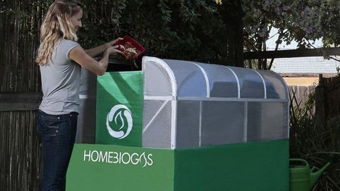مبدل بیوگاز، پس ماند غذاهای خانگی را به گاز شهری تبدیل میکند