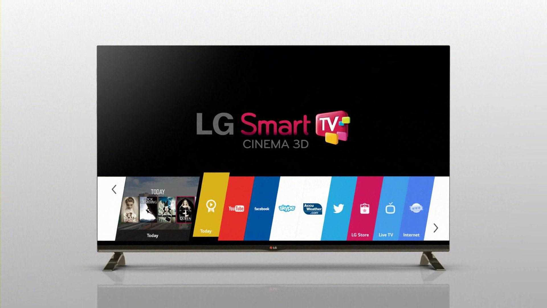 وعده ال جی برای آپدیت تلویزیون های هوشمند در CES 2016