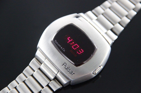 ساعت Pulsar شرکت Tiffany ما را به آینده میبرد