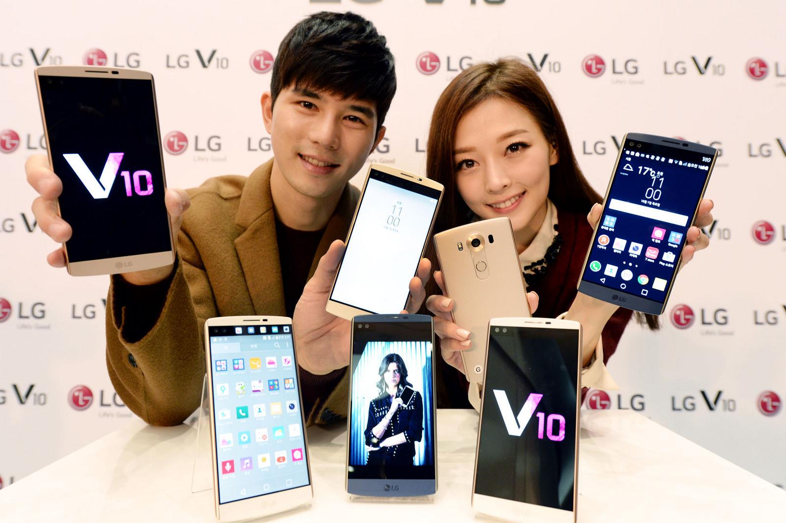 استقبال کم نظیر کاربران آمریکایی از گوشی هوشمند ال جی  V10