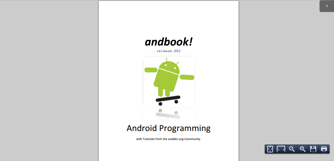 Andbook-Android-Programming
