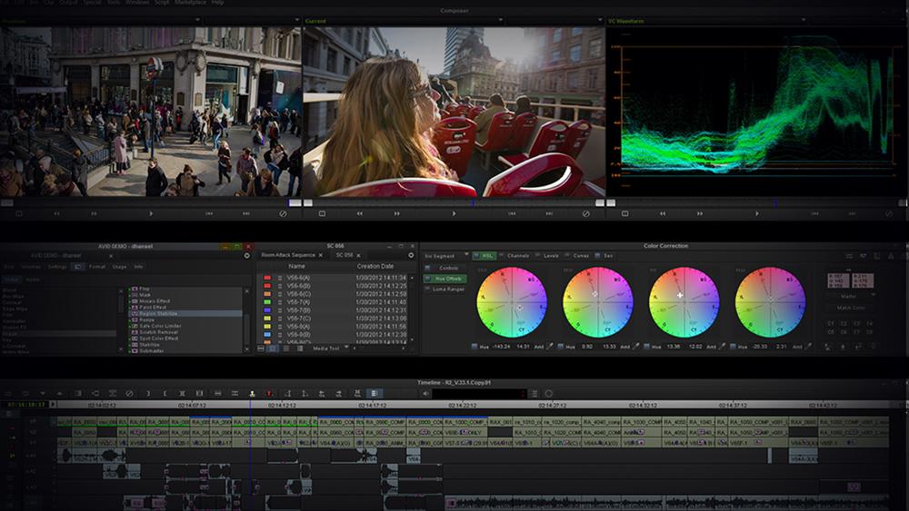 Avid Media Composer برترین نرم افزار های تدوین فیلم
