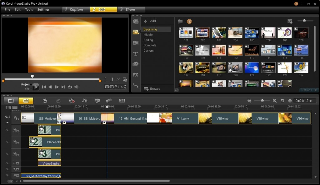corel videostudio pro x613 100034024 orig 1024x594 برترین نرم افزار های تدوین فیلم
