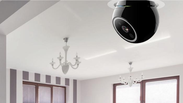 کنترل امنیت و نظارت بر خانه با یک لامپ بی سیم