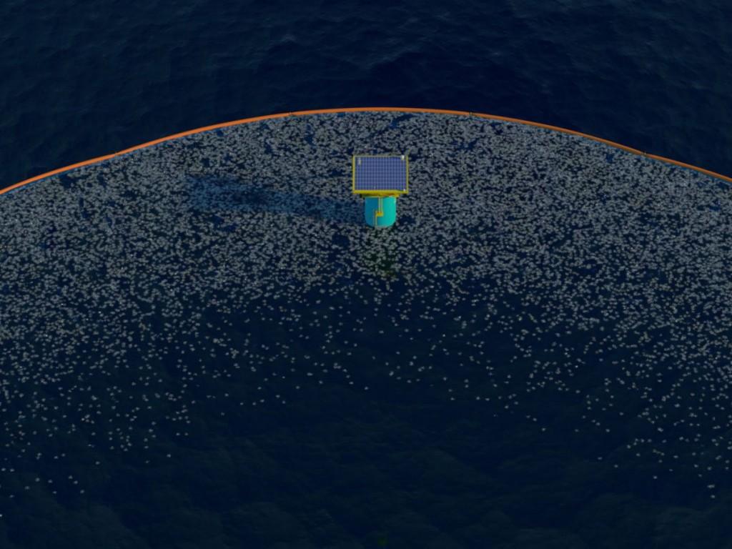 گروه پاکسازی اقیانوس در حال انجام آزمایش نمونه کوچک در موسسه تحقیقاتی Deltares