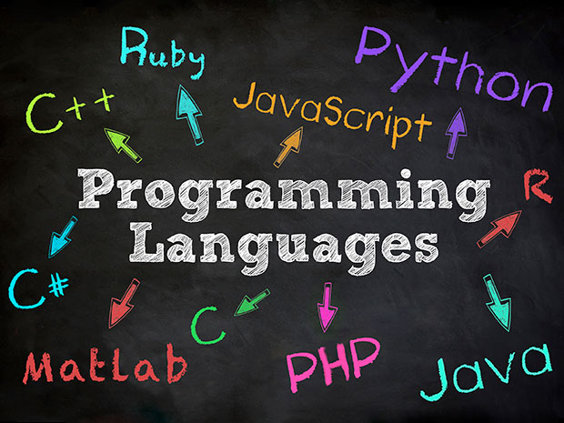 تصویر زبان های برنامه نویسی