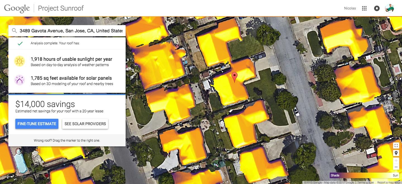 پروژه سقف آفتاب گیر گوگل گسترده تر شد