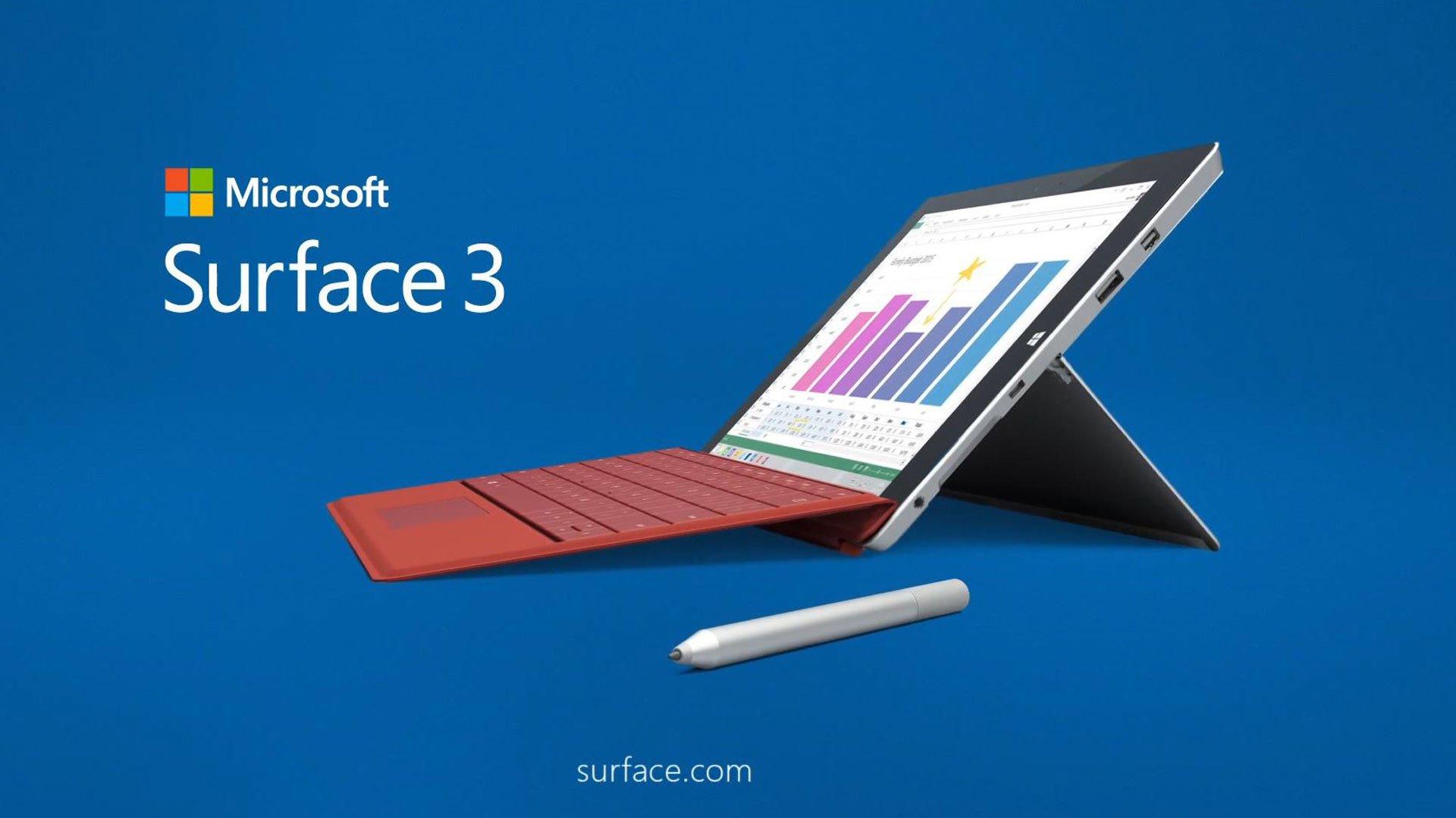 قلم برای سرفیس 3 نسبت به iPad پرکاربردتر است