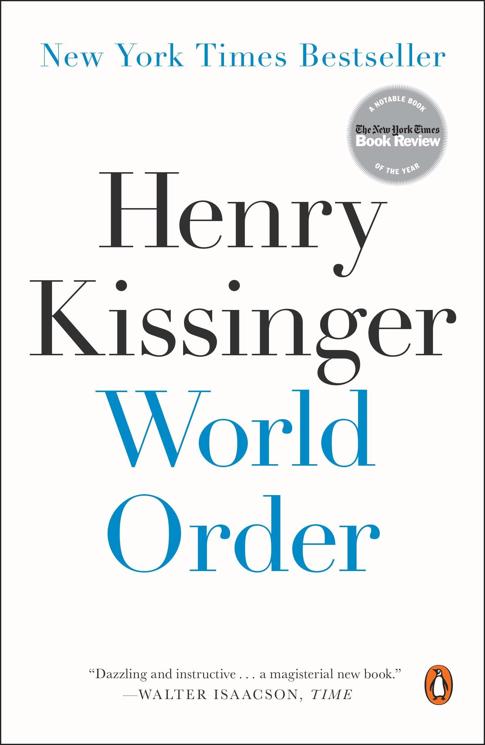 مارک زاکربرگ از همه خواست تا کتاب نظم جهانی هنری کیسینجر را بخوانند
