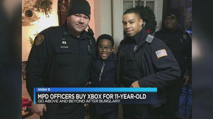 پلیس برای کودک یازده ساله ایکس باکس خرید