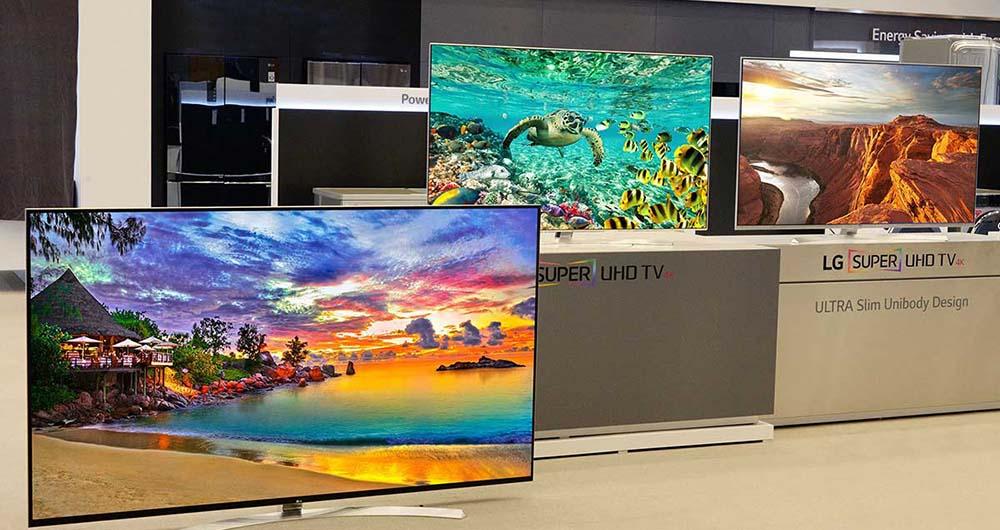 الجی تلویزیون 98 اینچی و 8K خود را به نمایشگاه CES 2016 آورد