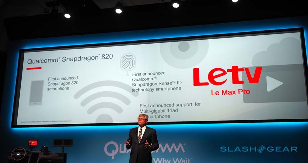 اولین گوشی مجهز به تراشه اسنپدراگون 820 در CES 2016 معرفی شد