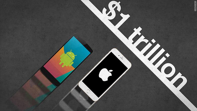 آیا گوگل می تواند اپل را پشت سر بگذارد؟