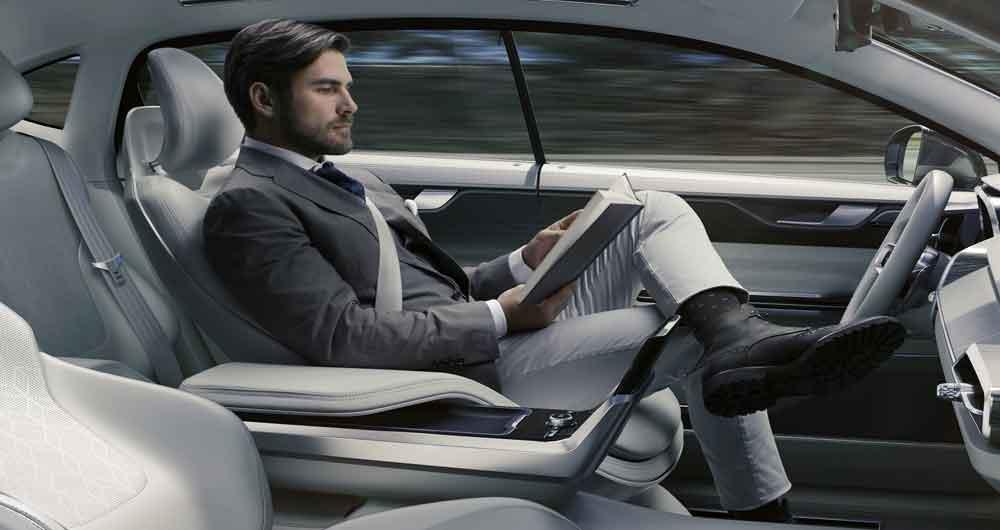 خودرو های بدون راننده ولوو نیازمند راننده هستند!
