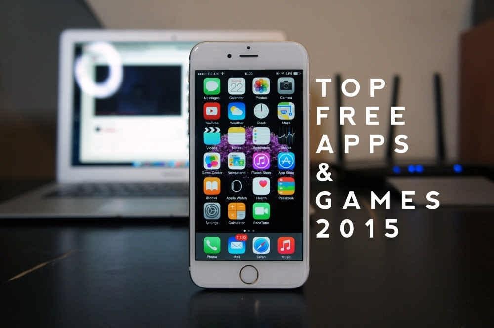 اپلیکیشن ها و بازی های برتر آی او اس در سال 2015