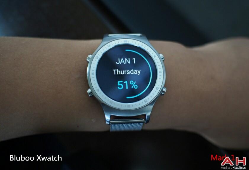 تصاویر و مشخصات ساعت هوشمند Bluboo Xwatch لو رفت!