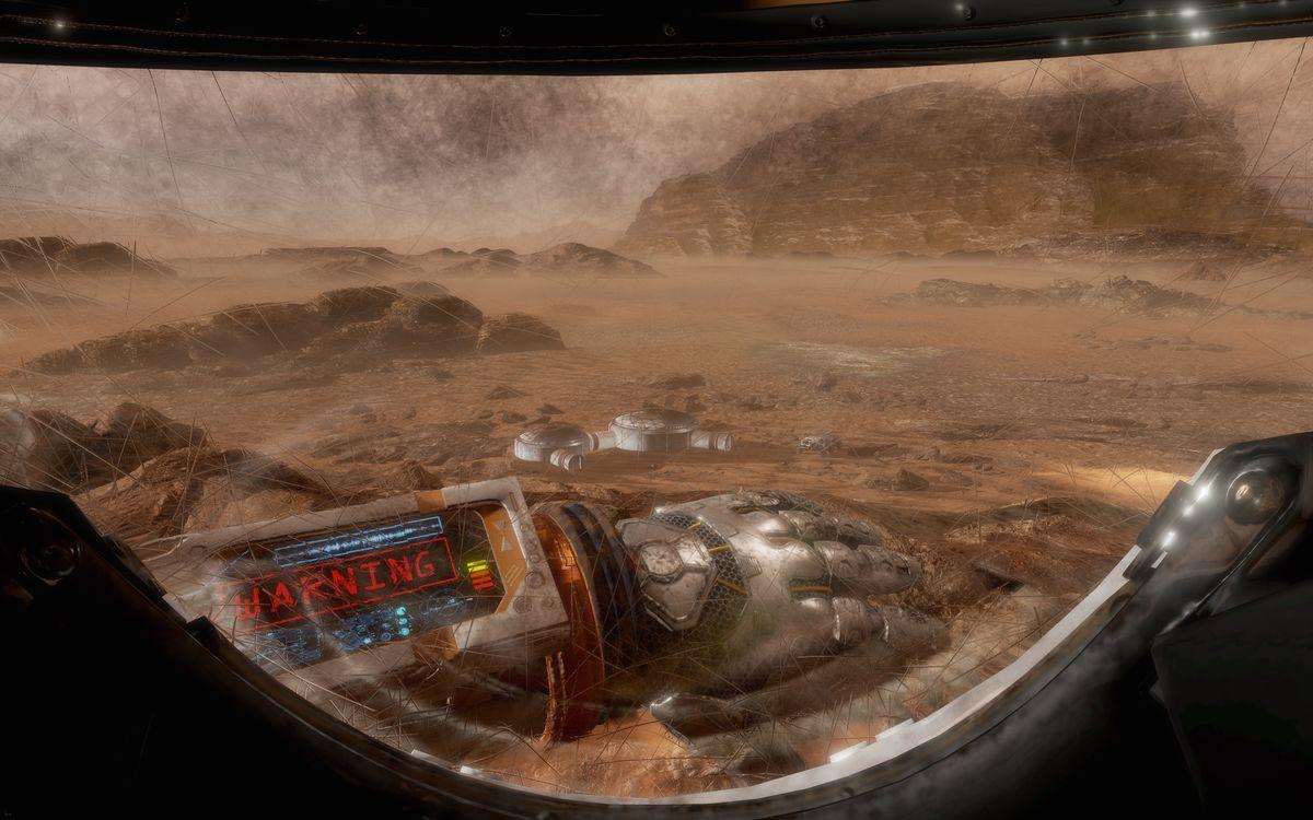 تجربه حقیقت مجازی فیلم مریخی