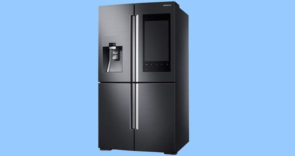 یخچال جدید سامسونگ به شما اجازه می دهد تا داخل یخچال را ببینید