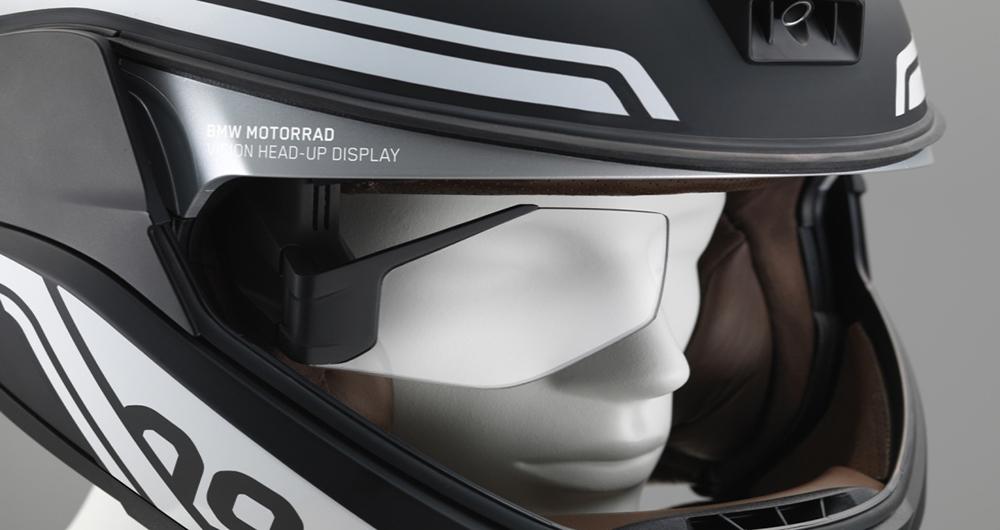 کلاه ایمنی هوشمند شرکت BMW
