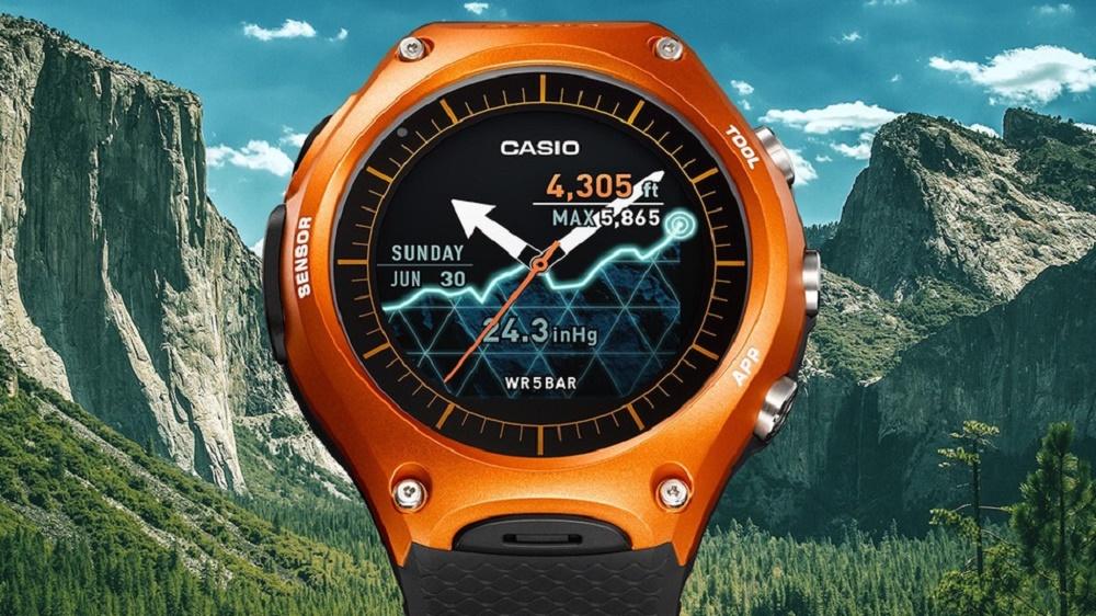 کاسیو از ساعت هوشمند WSD-F10 مجهز به سیست عامل اندروید ویر رونمایی کرد