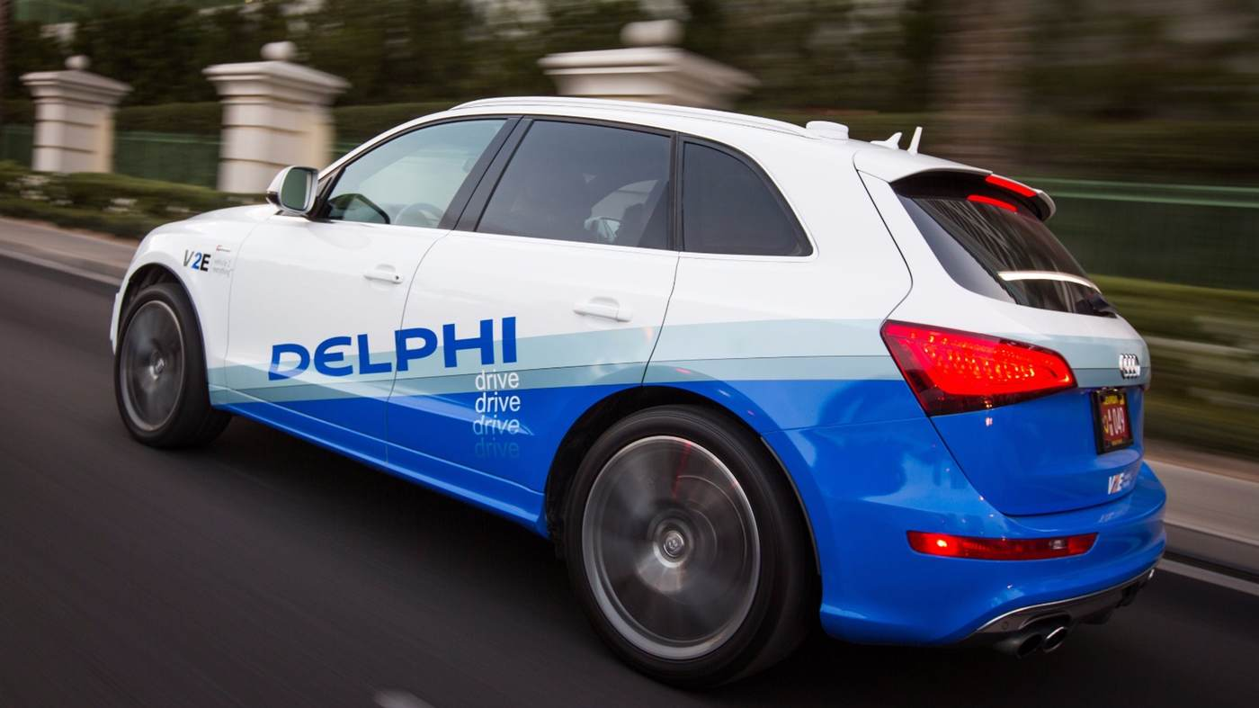 دلفی از فناوری خودکار وسیله نقلیه خود رونمایی می کند