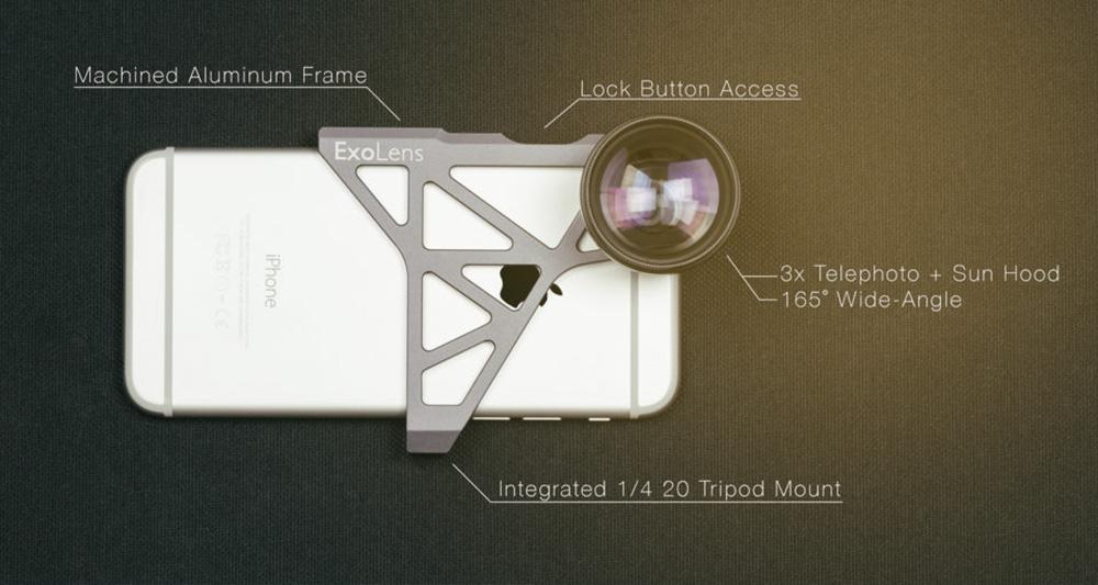 زایس لنزهای جدید ExoLens را برای ایفون طراحی کرد