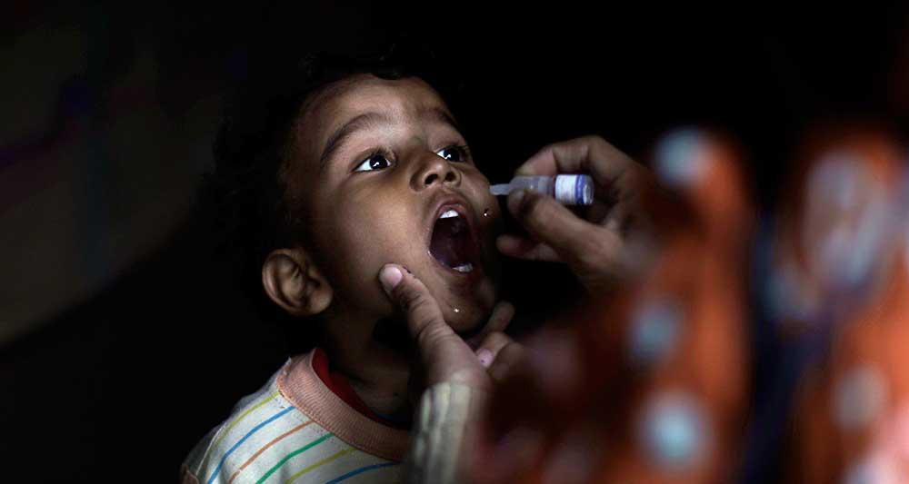 واکسن های جدید فلج اطفال
