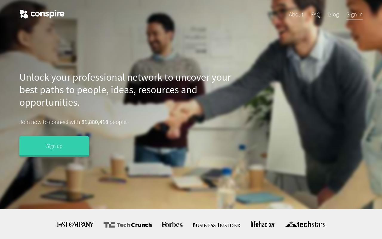 Conspire شبکه اجتماعی کسب و کارهای حرفه ای