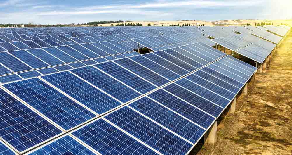 خیز بلند ال جی در صنعت انرژی های خورشیدی