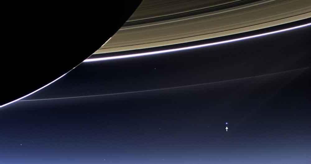 زمینی کوچک در آسمان بزرگ و شگفت انگیز