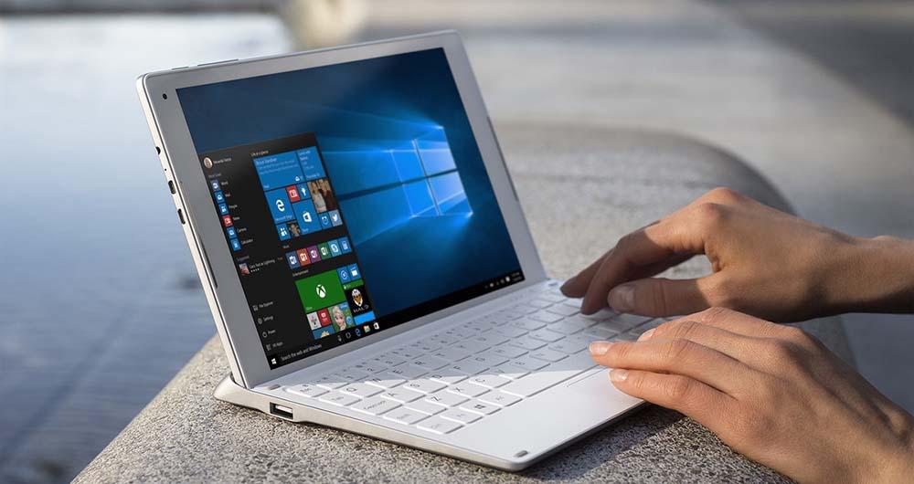 تبلت ویندوز آلکاتل پلاس 10 با صفحه کلید اختصاصی 4G معرفی شد