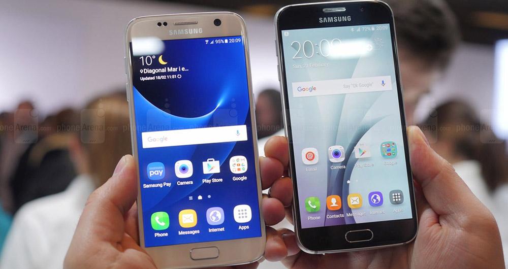 نگاهی کوتاه به تفاوتهای کاربردی Galaxy s6 و Galaxy s7 از سامسونگ