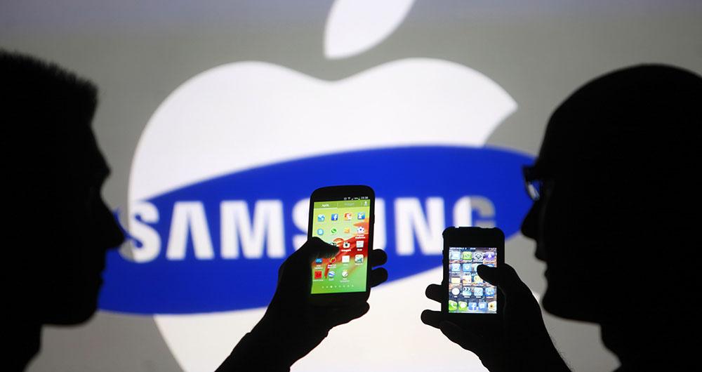 اختلاف سهم بازار سامسونگ و اپل در ایالات متحده کمتر شد