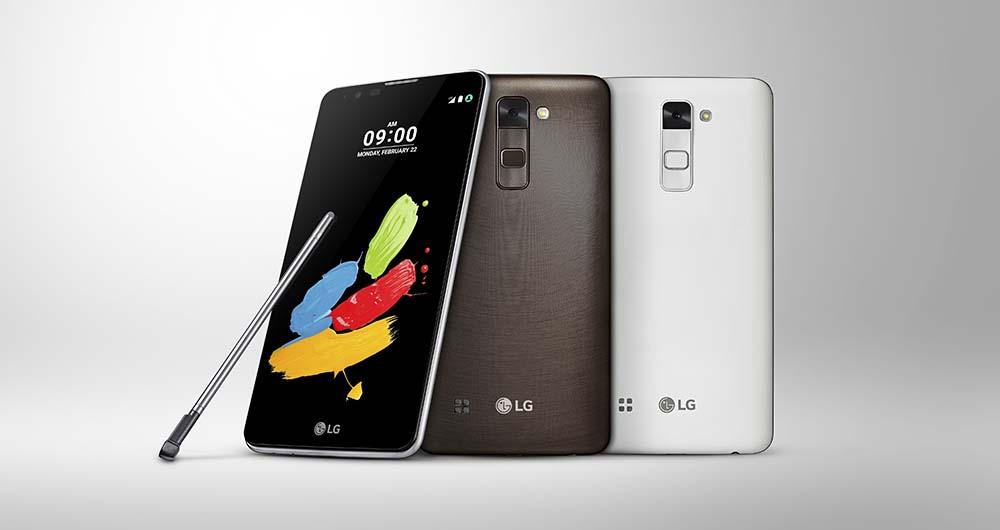 رونمایی رسمی الجی از گوشی LG Stylus 2 پیش از برگزاری رویداد MWC